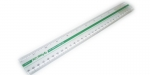 Power Line Plastic Ruler 30cm