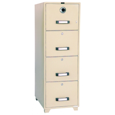 UCHIDA Fire Proof Filing Cabinet B4-4D