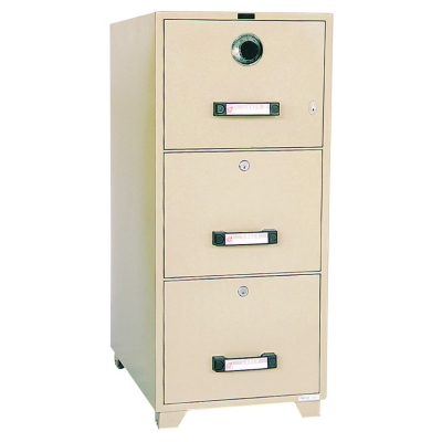 UCHIDA Fire Proof Filing Cabinet B4-3D