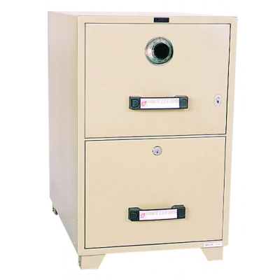 UCHIDA Fire Proof Filing Cabinet B4-2D(C)