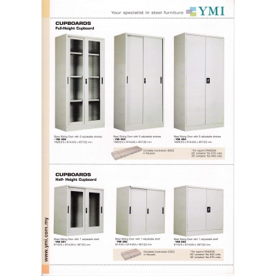 YMI Half Height Cupboard