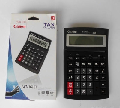 Canon Calculator WS-1610T