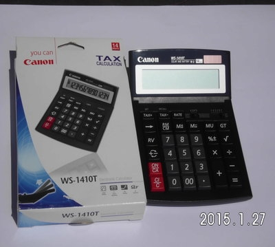 Canon Calculator WS-1410T