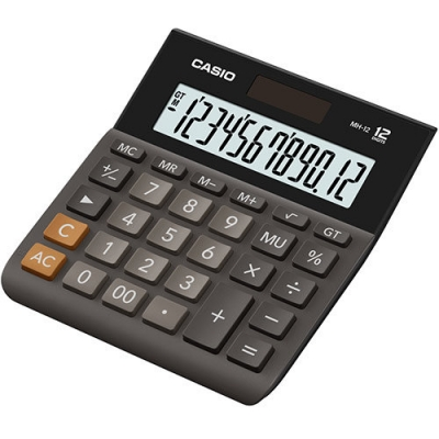 Casio Calculator MH-12-BK