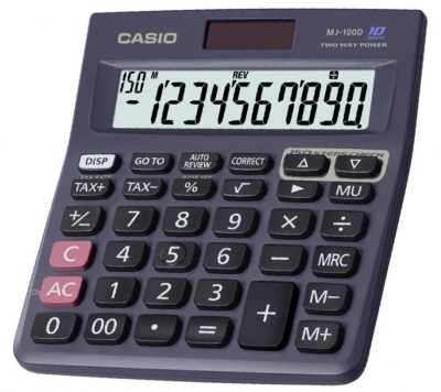 Casio Calculator MJ-100D Plus