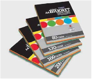 Camel Bright Colour Paper/Card Mix -100 sheets