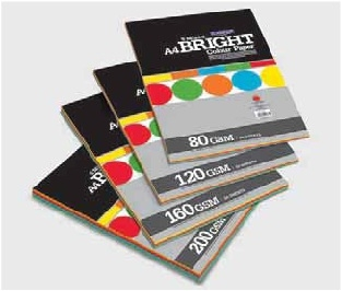 Camel Bright Colour Paper/Card Mix -50 sheets