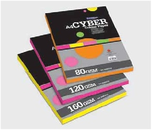 Camel Cyber Colour Paper/Card- 100 sheets