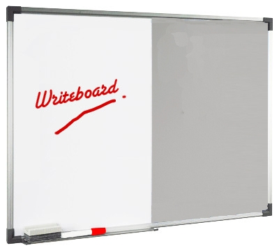 magnetic white boad & soft board dual board