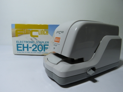MAX Flat Clinch Electronic Stapler EH-20F