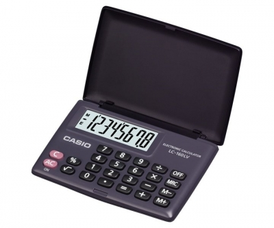 Casio Calculator LC-160LV-BK-W