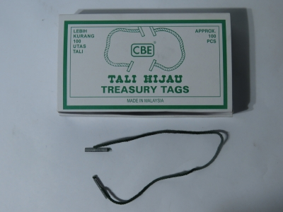 CBE Treasury Tag
