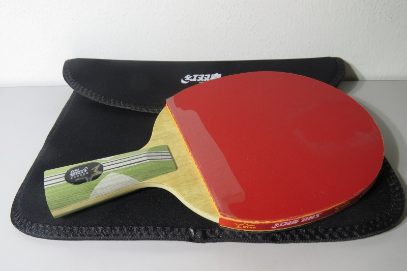 Double Happiness 6 star Table Tennis Bat