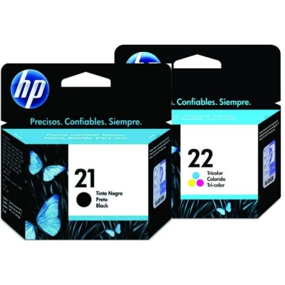 HP Cartridge HP22&HP21